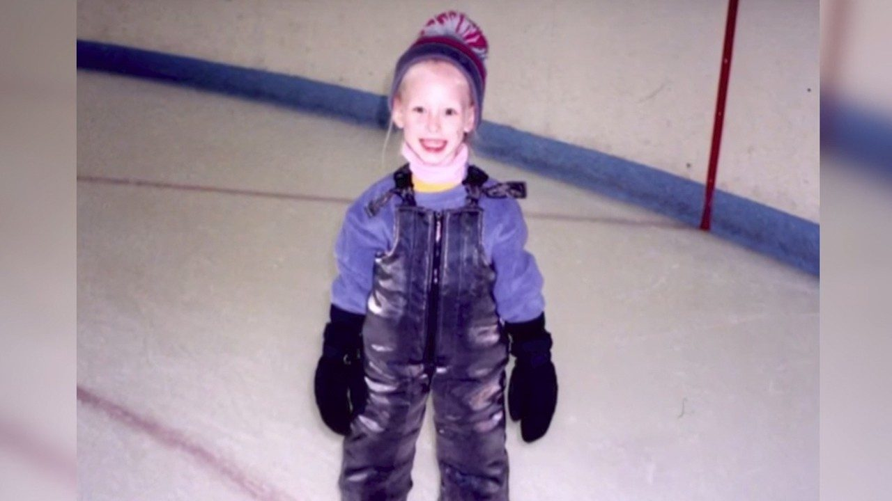 Bradie Tennell at a young age on the ice