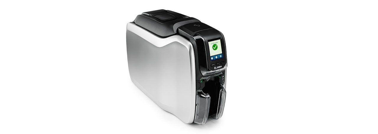ZC300 Card Printer Right