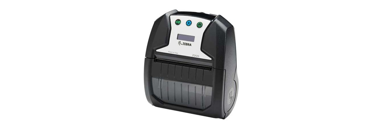 ZQ120 Mobile Printer Facing Left