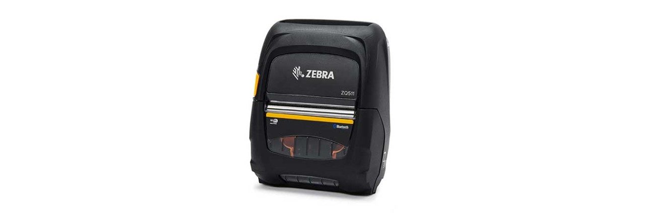 Zebra ZQ511 Mobile Printer, Left View