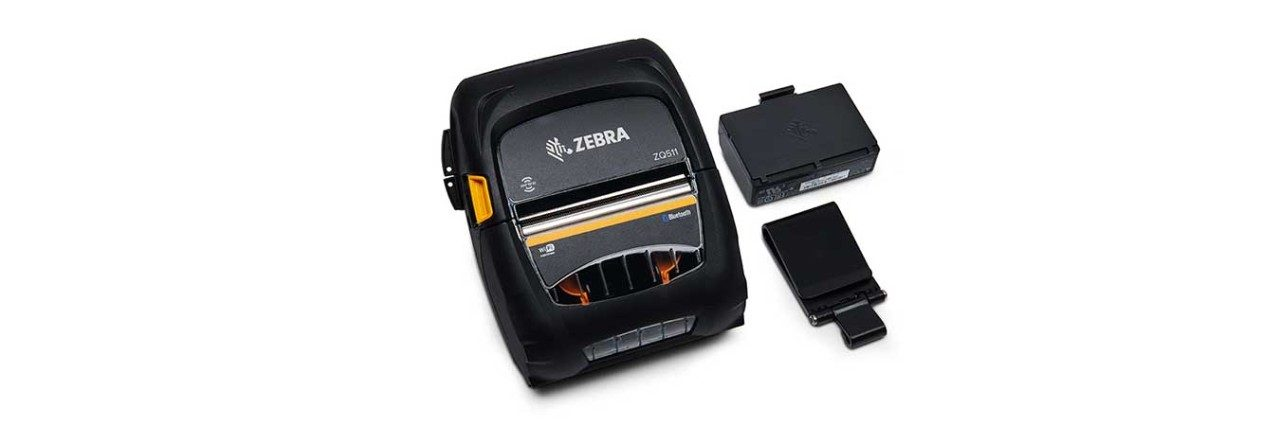 Zebra ZQ511 RFID Mobile Printer with Accessories