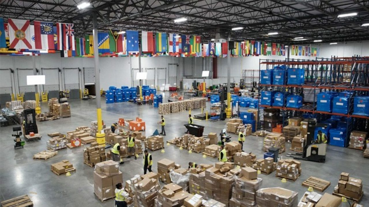 Direct Relief warehouse
