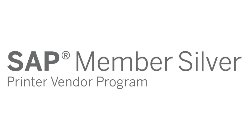 Logotipo de membro de nível Prata do SAP Printer Vendor Program
