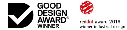 Good Design Award Winner, reddot award 2019
