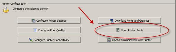 Zebra Setup Utilities -- Sending Files to a Printer