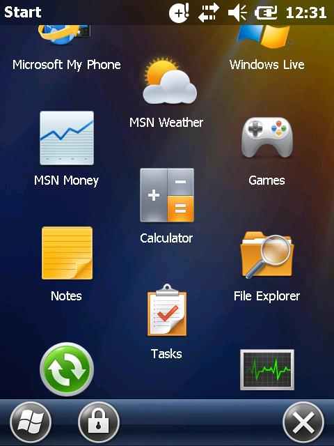 How to update or reflash MC mobile device with Windows mobile?