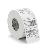 roll of z-perform paper barcode labels