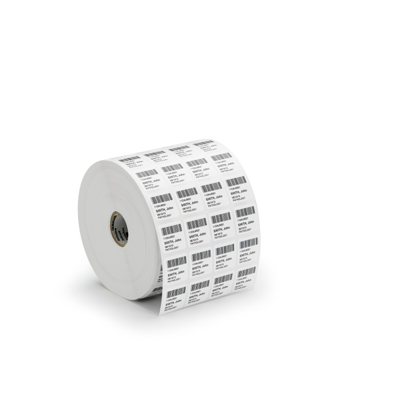 roll of z-xtreme synthetic barcode labels