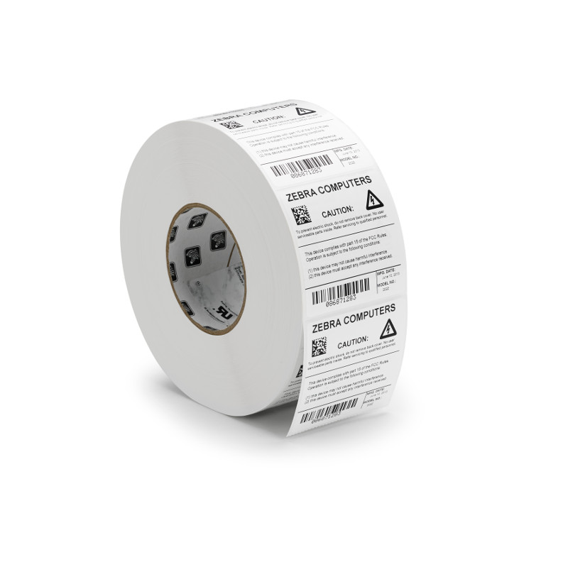 roll of z-ultimate synthetic barcode labels