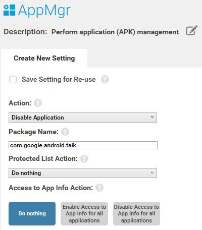 Disable Application using StageNow Tool | Zebra