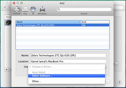 Zebra Printer Software Mac