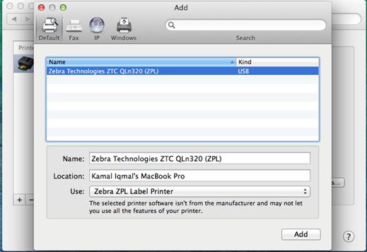Install CUPS driver for Zebra Printer in Mac OS | Zebra