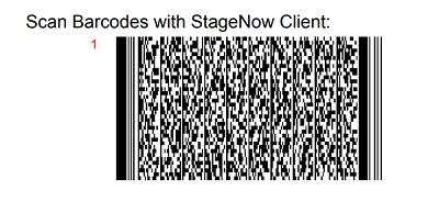 Using StageNow to install the latest Velocity client from