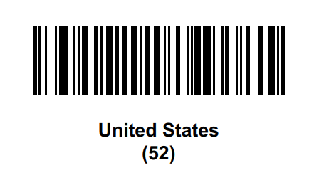 DS9908-R Set country of operation to enable RFID