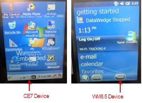 Persisting the wireless config on a MC92N0 when performing a