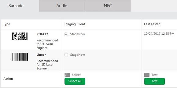 Set screen timeout interval using StageNow Tool | Zebra