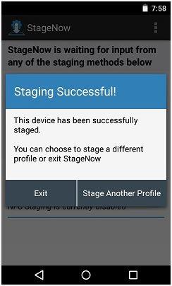 Configure NTP Server Address using StageNow Tool   Zebra