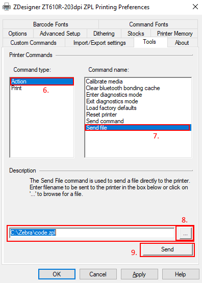 Sending ZPL Commands to a Printer | Zebra