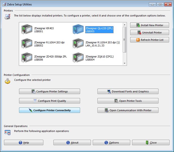 Choosing & Assigning an IP Address Using Zebra Setup