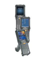 Zebra MC9200 front view