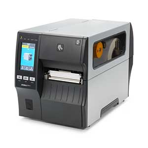 Front View of ZT400 Series RFID Printer