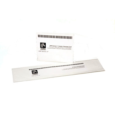 zebra thermal printer cleaning cards