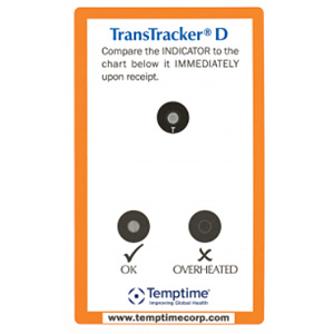 Indicateur thermique de transport TransTracker D