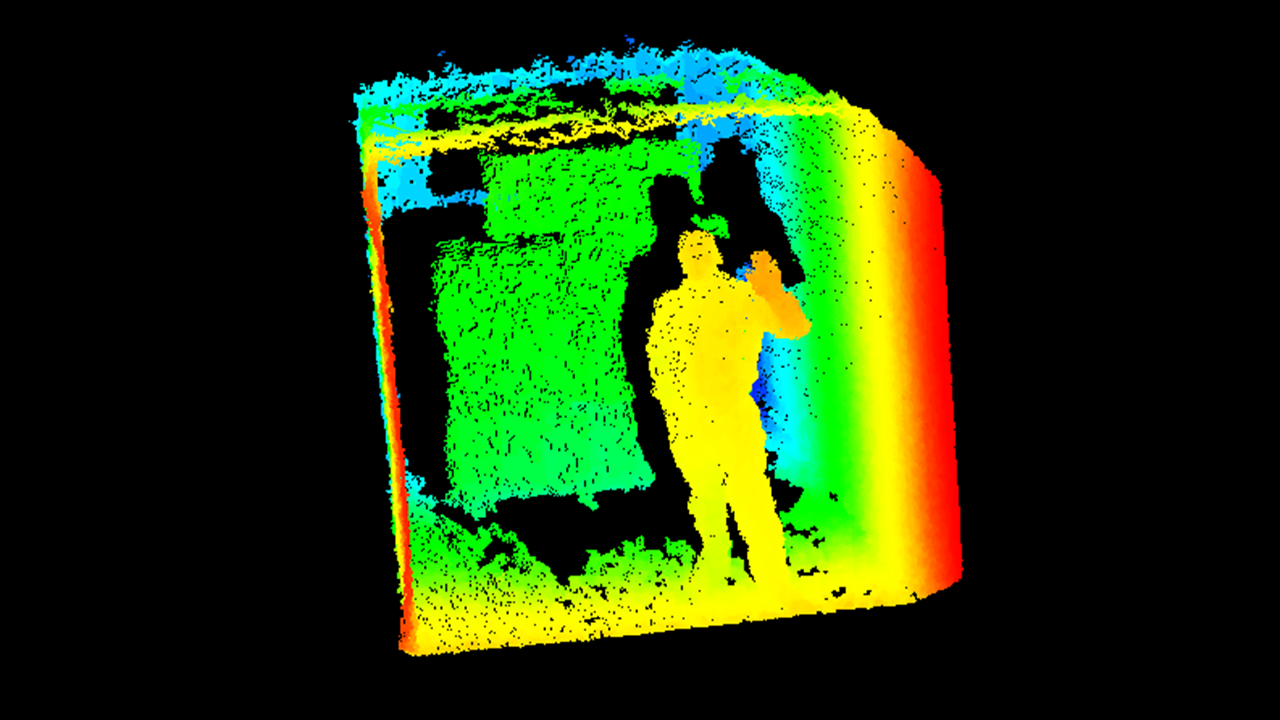 An image created using 3D sensors