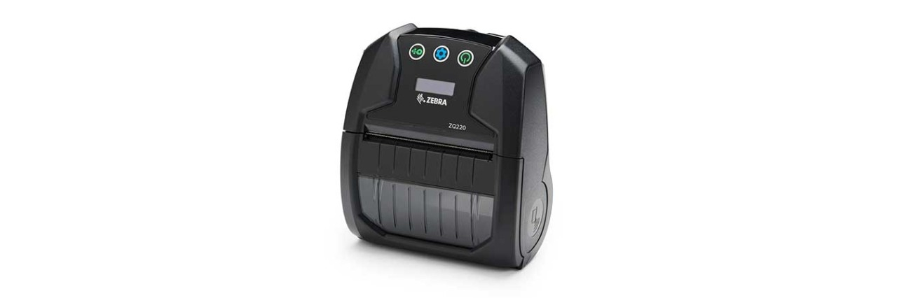 ZQ220 Mobile Printer Facing Left