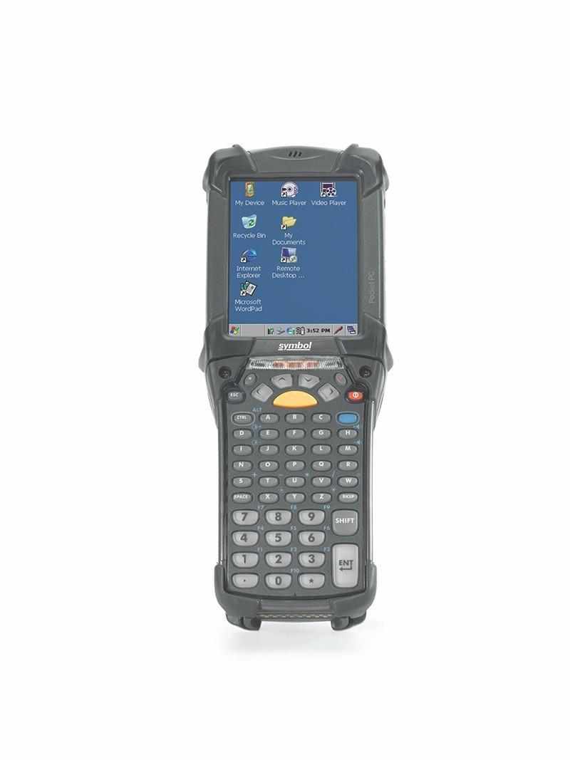 Computador Móvel Zebra MC9200, Vista Frontal