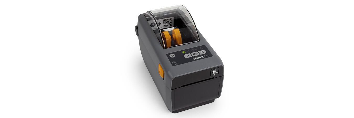 Visão de cima da impressora de transferência térmica ZD620 STD