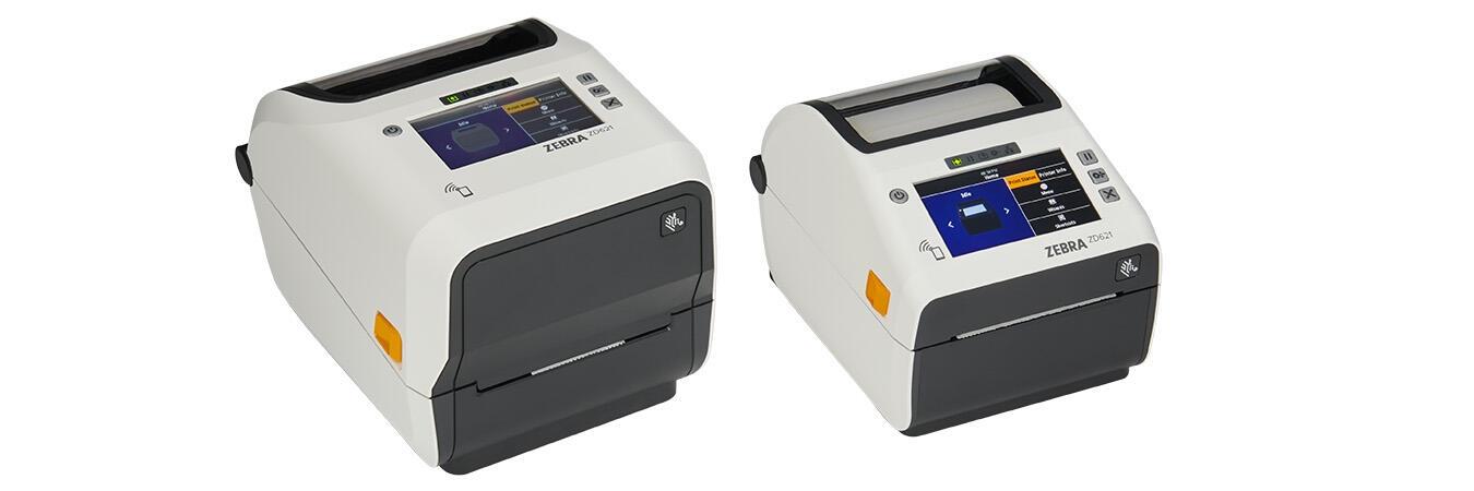 Foto da impressora de transferência térmica ZD620
