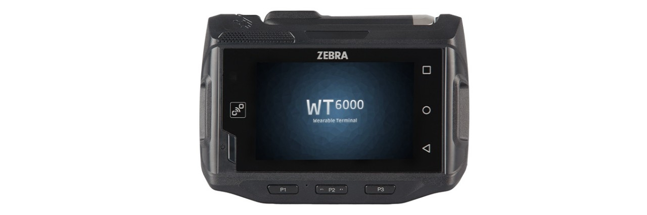 WT6000 佩戴式数据终端,正视图