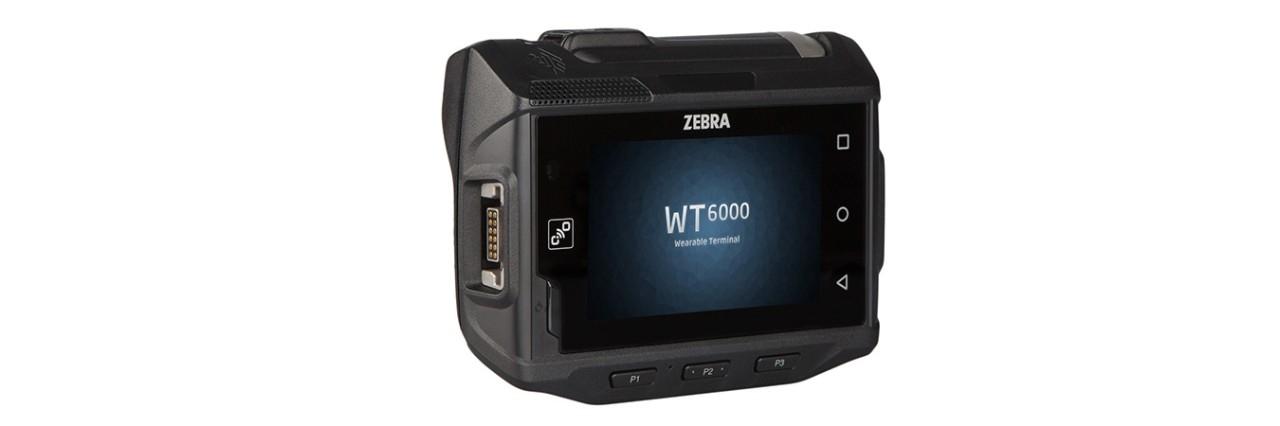 WT6000 佩戴式数据终端,右视图