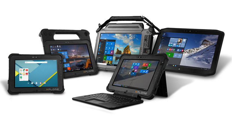 Xplore rugged tablets and mobile computers