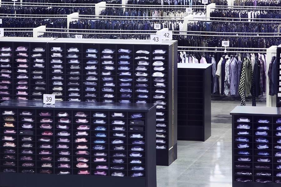 Transparenz in einem Einzelhandelsgeschäft