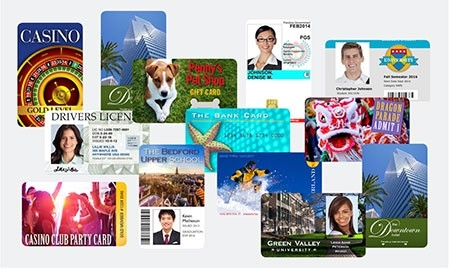 Collage de tarjetas