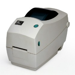 Impresora de sobremesa de transferencia térmica Zebra TLP 2824