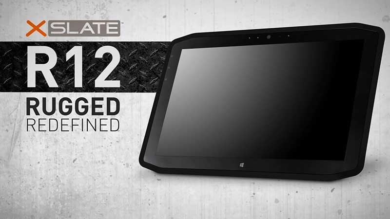XSlate R12 Rugged Tablet video screencap