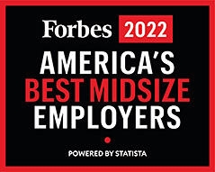 Forbes 2018 America's Best Mid\u002DSize Employers