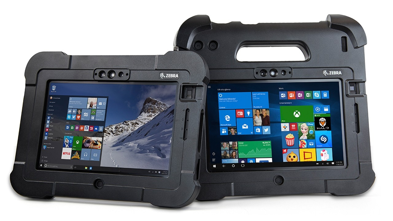 The ATEX\u002Dcertified Zebra XPAD L10 and XSLATE L10 rugged tablets