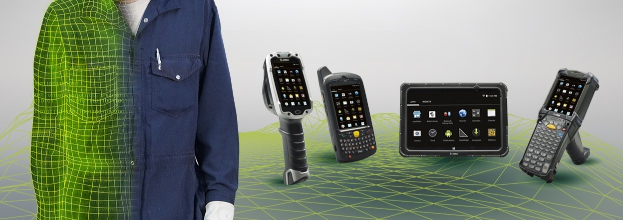 Zebra Android Manufacturing products