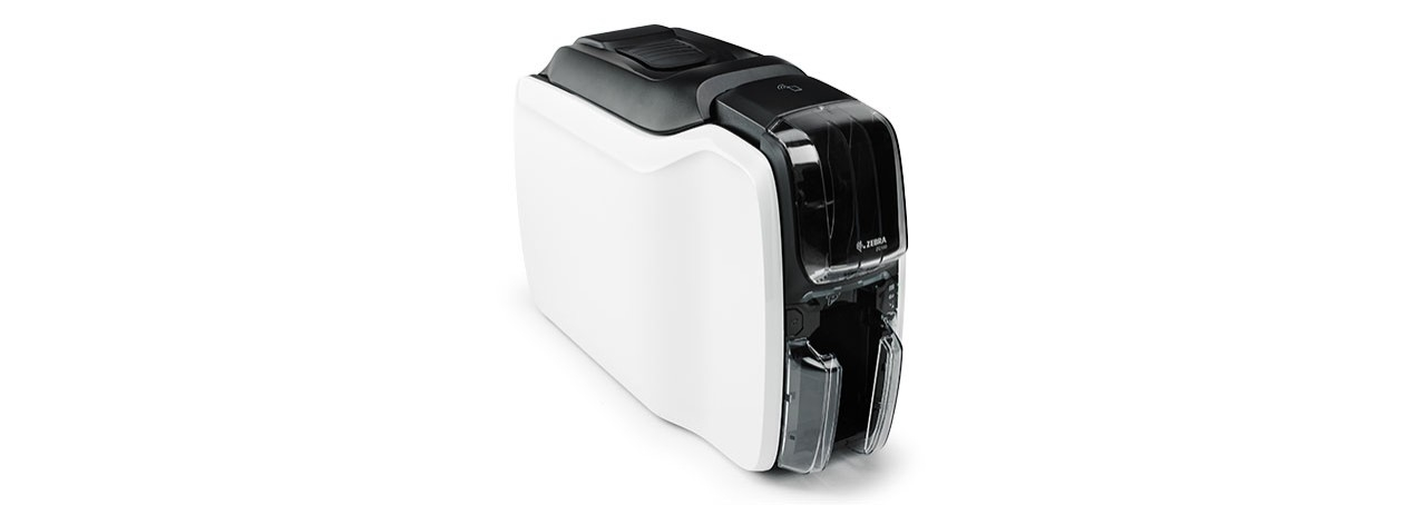 Zebra ZC100 Card Printer, Right View