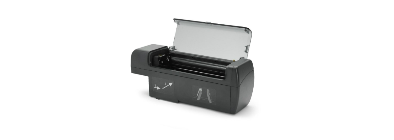Zebra ZXP Series 7 Pro Hopper without Cards, Left View