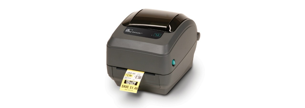 Zebra GK420t Advanced Desktop Label Printer with Media
