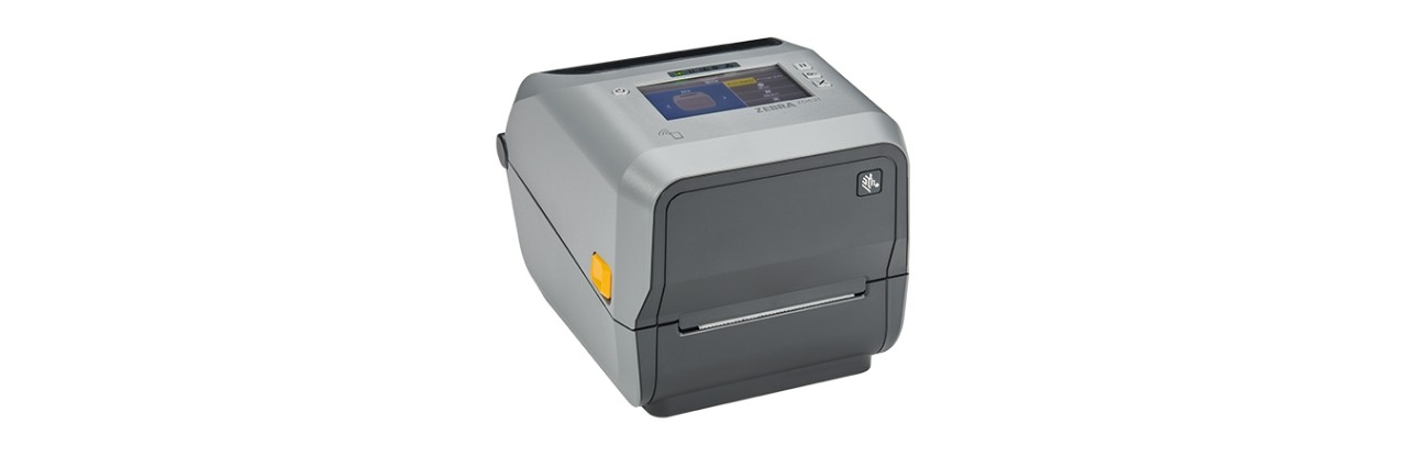 ZD620 Colour Thermal Printer with screen and without