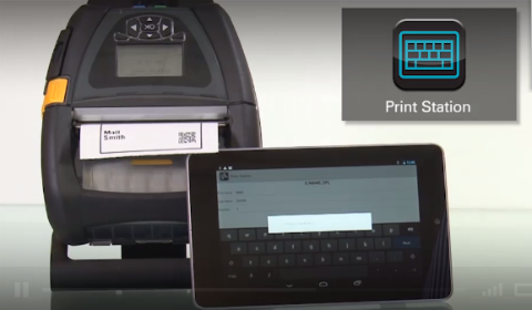 Print Station App for Android Devices | Link-OS | Zebra