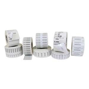 A roll of Zebra RFID labels