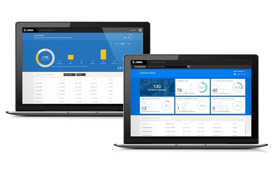 Dashboard di Asset Visibility Service (AVS)