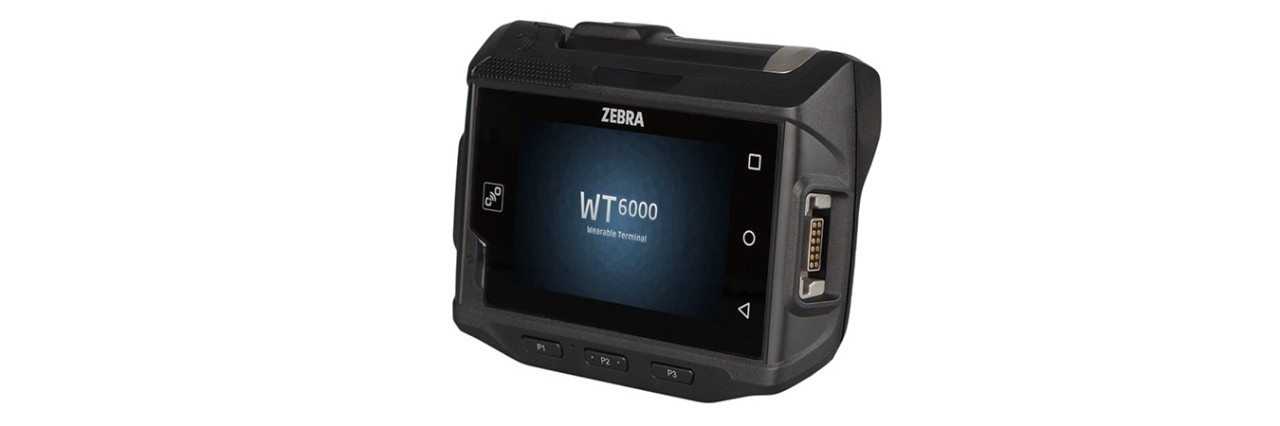Computer indossabile WT6000, vista di sinistra